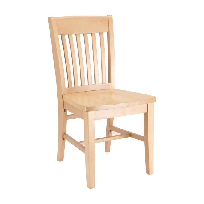 Natural Stain Restaurant Chair