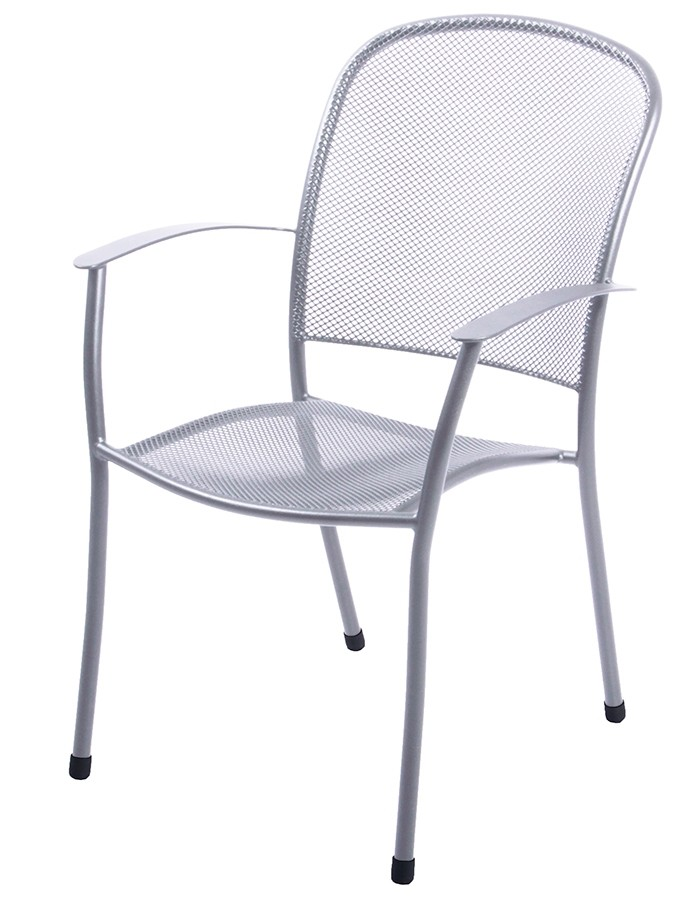 Caredo Outdoor Armchair - Platinum