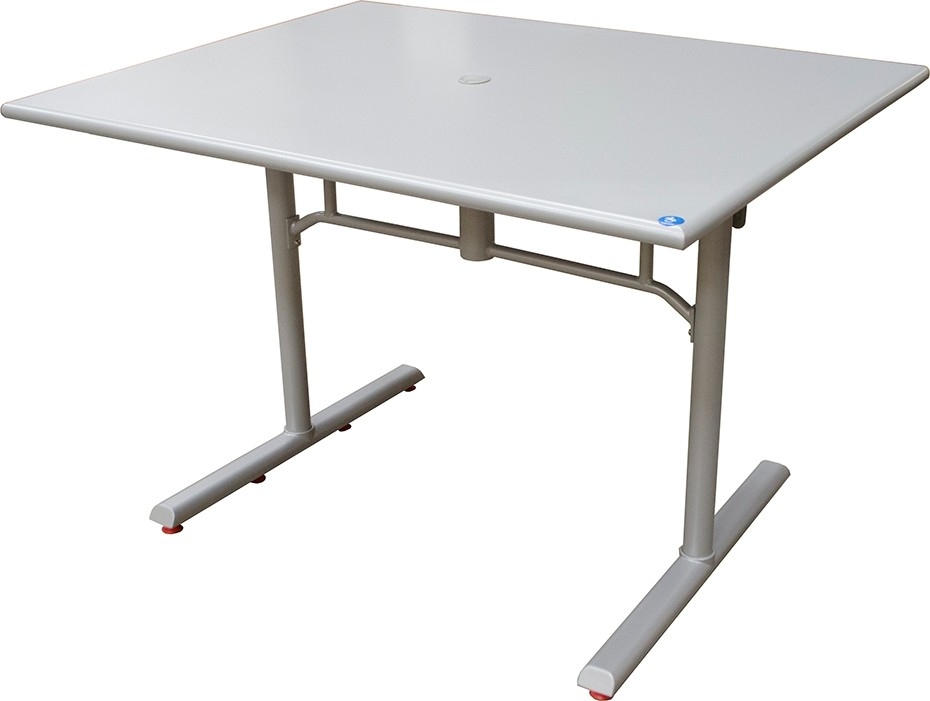 Outdoor Folding ADA Table - Platinum - SPECIAL PRICING