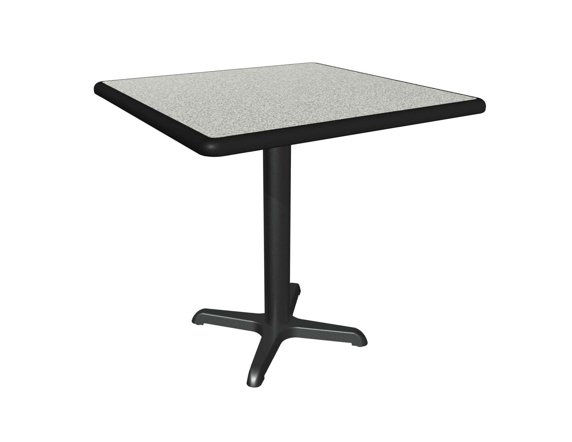 Graphite Nebula Laminate Table Top, Black Dur A Edge