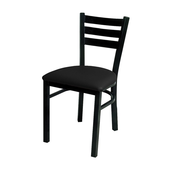Quest Ladderback Steel Chair With Upholstered Seat | Chairs For Restaurant  U0026 Commercial Use | Plymold Essentials