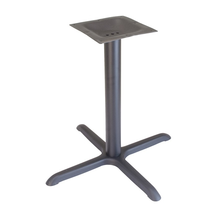 "30"" x 30"" table base dining height - Onyx Black"