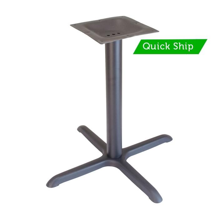 """36""""x36"""" table base - Onyx Black"""