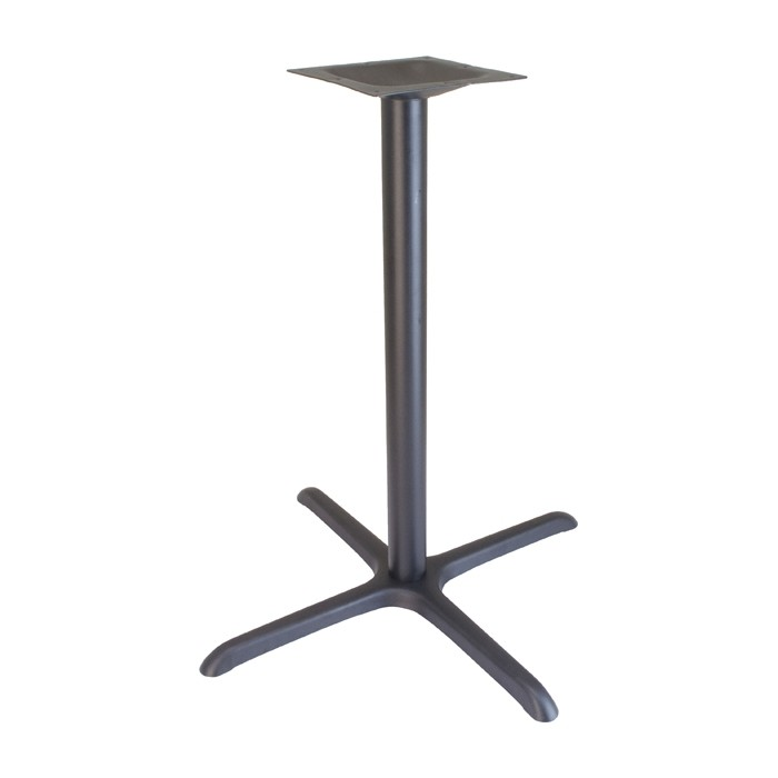 "36"" x 36"" bar height table base - Onyx Black"