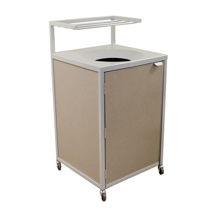 Best Ing Steel Bottom Plymold Trash Receptacle Style