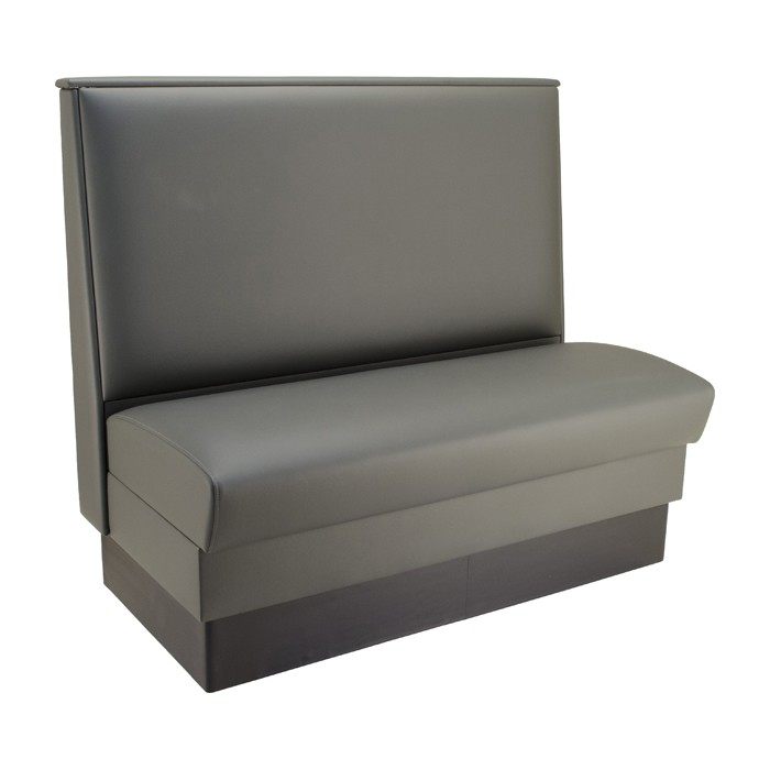 Slate Grey vinyl - single booth shown