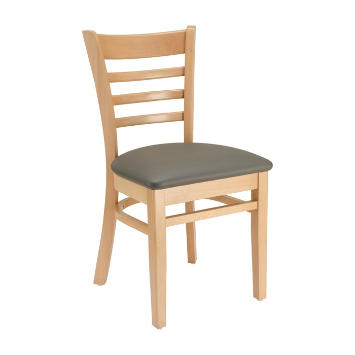 Exceptionnel Ladderback Chair With Upholstered Seat | Restaurant Chairs, Commercial Bar  Furniture | Plymold Essentials