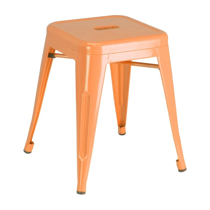 Orange Calais Dining Stool
