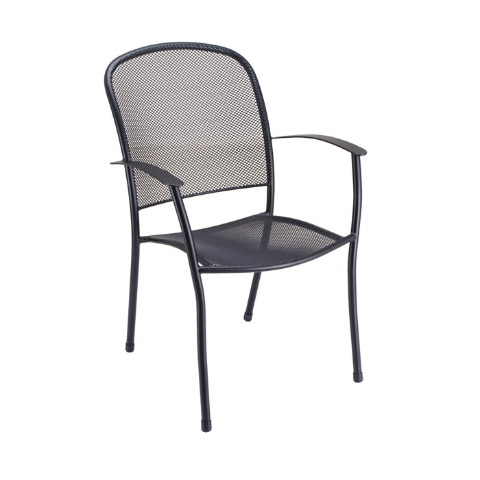 Caredo Outdoor Armchair - Charcoal - Temporarily Unavailable