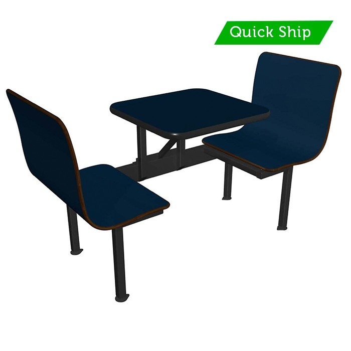 Atlantis laminate bench, Atlantis laminate table, black vinyl edge