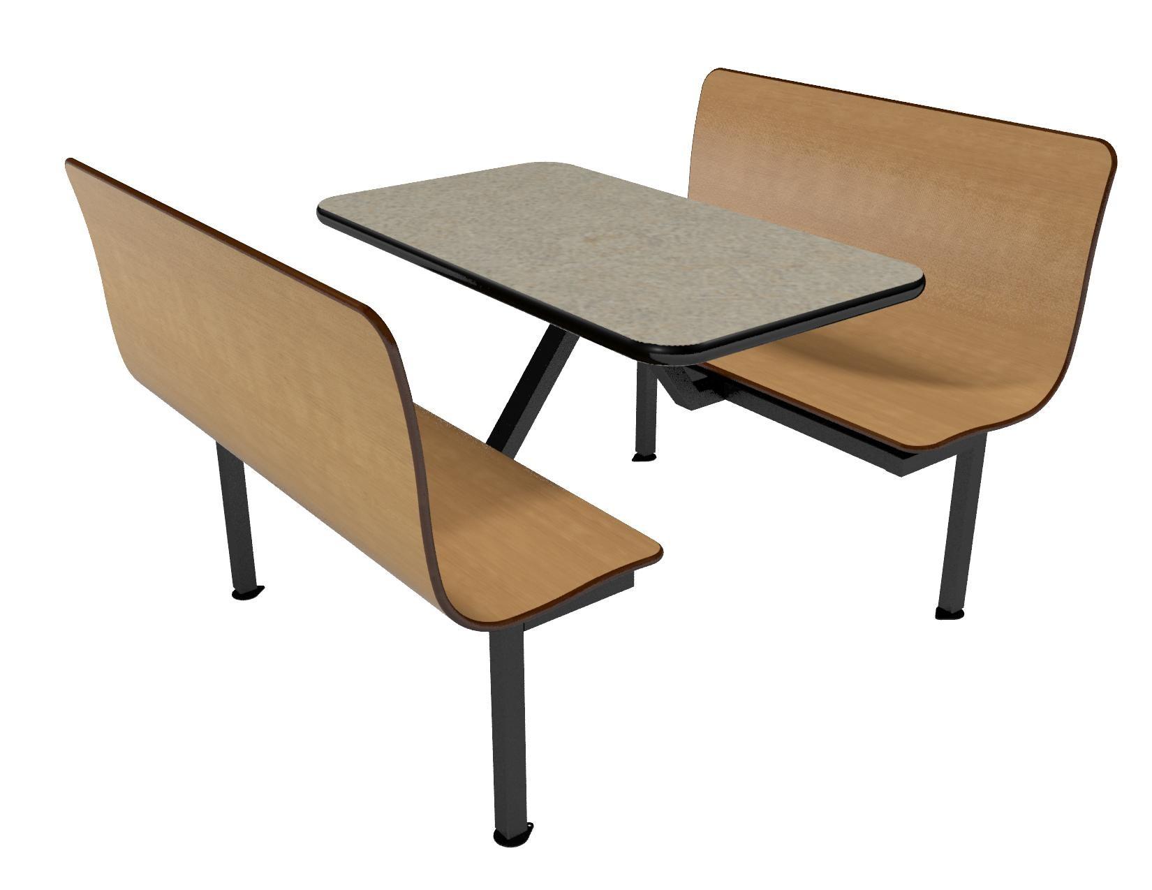 Contour island quot l vinyl edge millennium seating