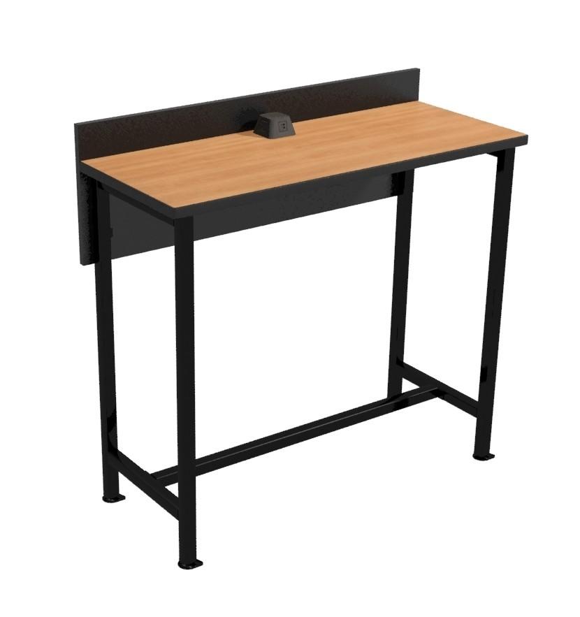 "Powered Dining Counter - 48"" Long Bar Height"