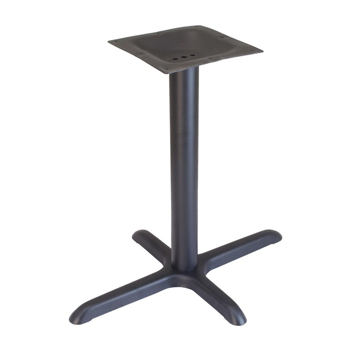 "22""x30"" dining height table base - Onyx Black1"