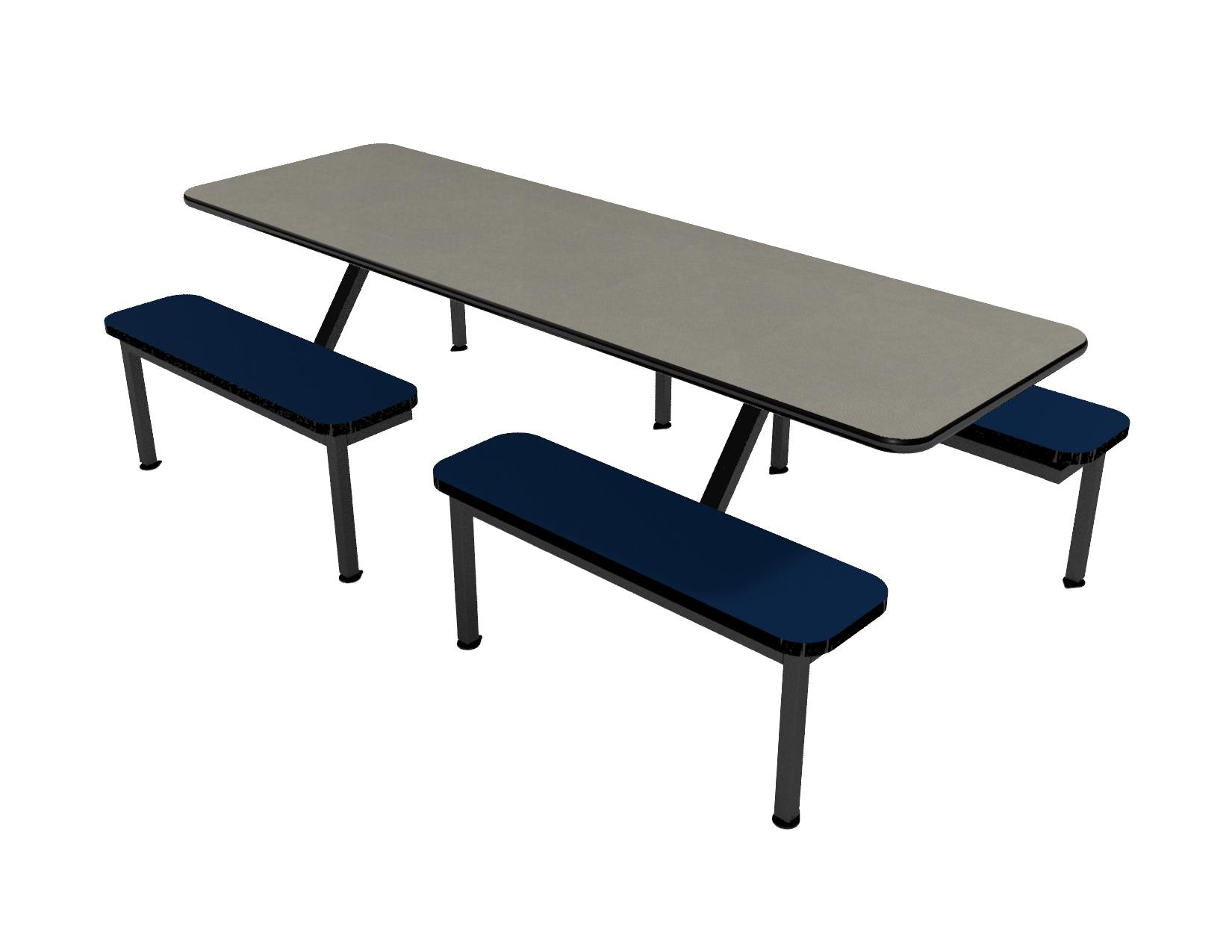 Fog laminate table and Atlantis laminate bench