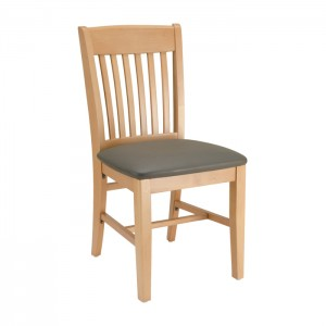 Restaurant Chair with Upholstered Seat