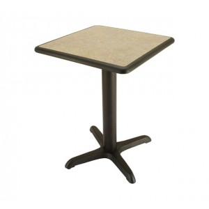 Laminate table top, Black Dur-A-Edge®