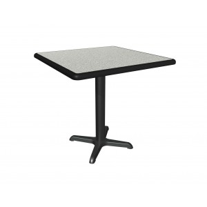 Graphite Nebula laminate table top, Black Dur-a-Edge
