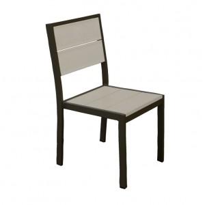 Aurora Outdoor Side Chair - Onyx Black Frame