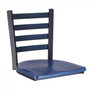 Encore chairhead with Atlantis blue composite seat