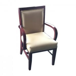 Merlot Stain, Buff vinyl Upholstery