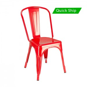 Paris metal side chair - quick ship