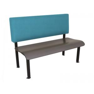 Citadel Warp Seat, Ocean Continuum Back, Onyx Black Frame