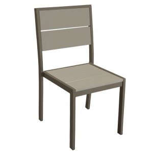 Aurora Chair with Iron Glimmer frame