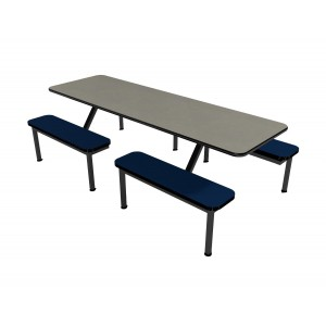Fog laminate table and Atlantis laminate bench