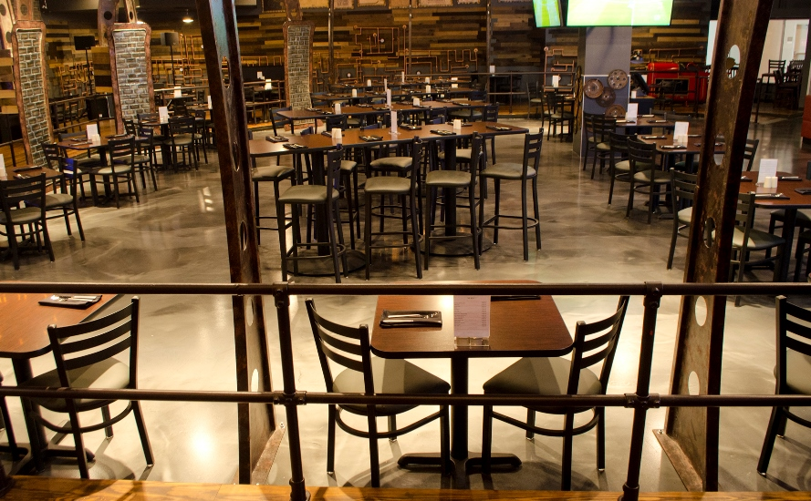 Commercial Restaurant Furniture For Virtual Reality