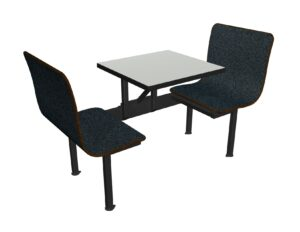 Cafeteria booth seating