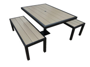 Aurora table bench