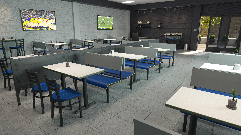 Corporate breakroom